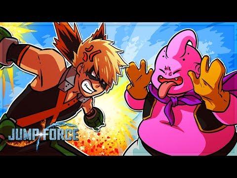 KATSUKI BAKUGO HATES MAJIN BUU! BAKUDEKU (Jump Force)