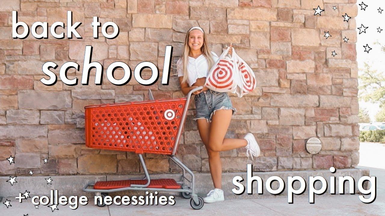 SCHOOL SUPPLIES SHOPPING   HAUL + college necessities 2020!