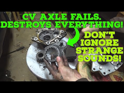 WORST CV AXLE FAILURE I HAVE EVER SEEN - GMC Envoy Is Now Beyond Repair!