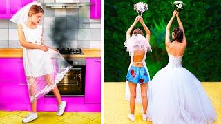 Rich Bride vs Broke Bride