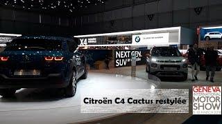 Actuoto-Salon : Citroën au Salon de l'auto de Genève (GIMS) 2018