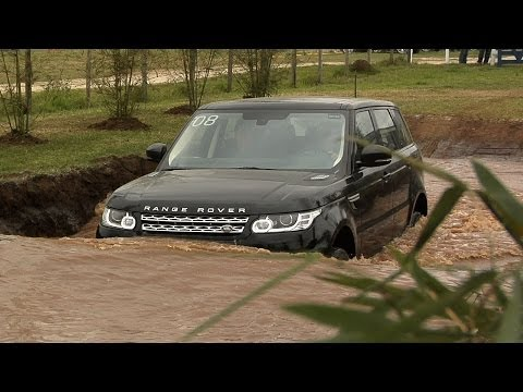 Lan amento Range Rover Sport