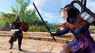 Assassin's Creed Origins - The Ninja Assassin Stealth Kills & Katana Rampage