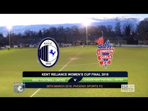 Kent Reliance Women's Cup Final 2018