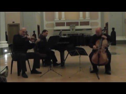 Ravello Piano Trio - J. Brahms - Trio in B Major - Second Version