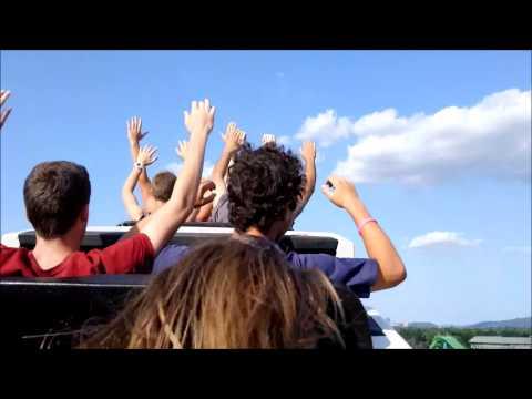 Dorney Park: Steel Force / On Ride Back Row POV / August 9, 2014