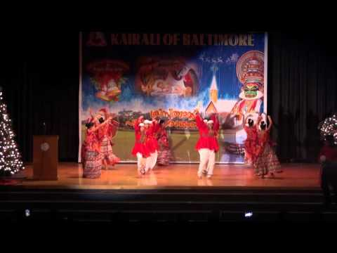 Kairali of Baltimore Christmas and New Years 2016- Ore Kanchi Dance