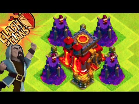 """Clash of Clans - """"WIZARD TOWER DEFENSE!"""" LVL 100+ CAN'T ...  Clash"""