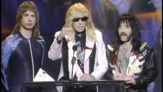 "Van Halen Wins Favorite Heavy Metal Album Award For ""For Unlawful Carnal Knowledge"" - AMA 1992"
