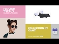 Collection By Gamt Featured Women's Sunglasses