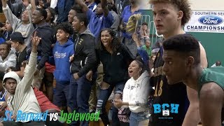 Late Night Matchup in the WOOD!!! | St. Bernard vs Inglewood Full Game Recap