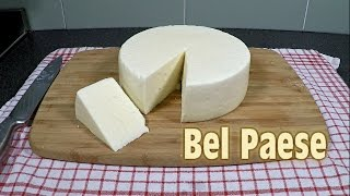 Making Bel Paese Cheese at Home