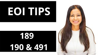 Tips on lodging successful EOI skilled migration Australia