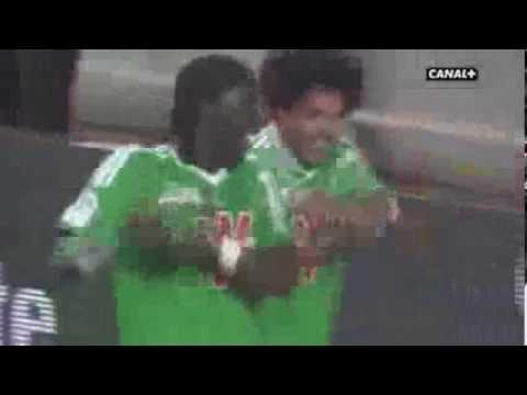 Brandão marca gol pelo Saint-Etienne e dança - Tchan nan nan