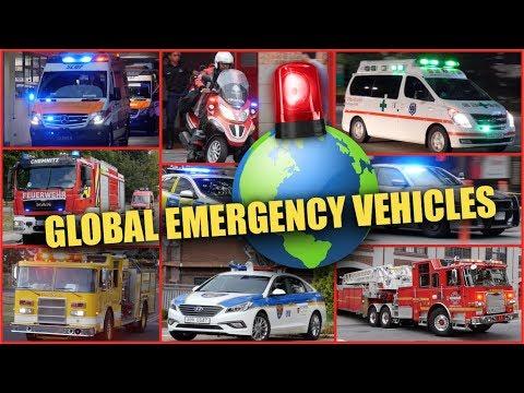 BEST OF | Emergency Vehicles Around The World!