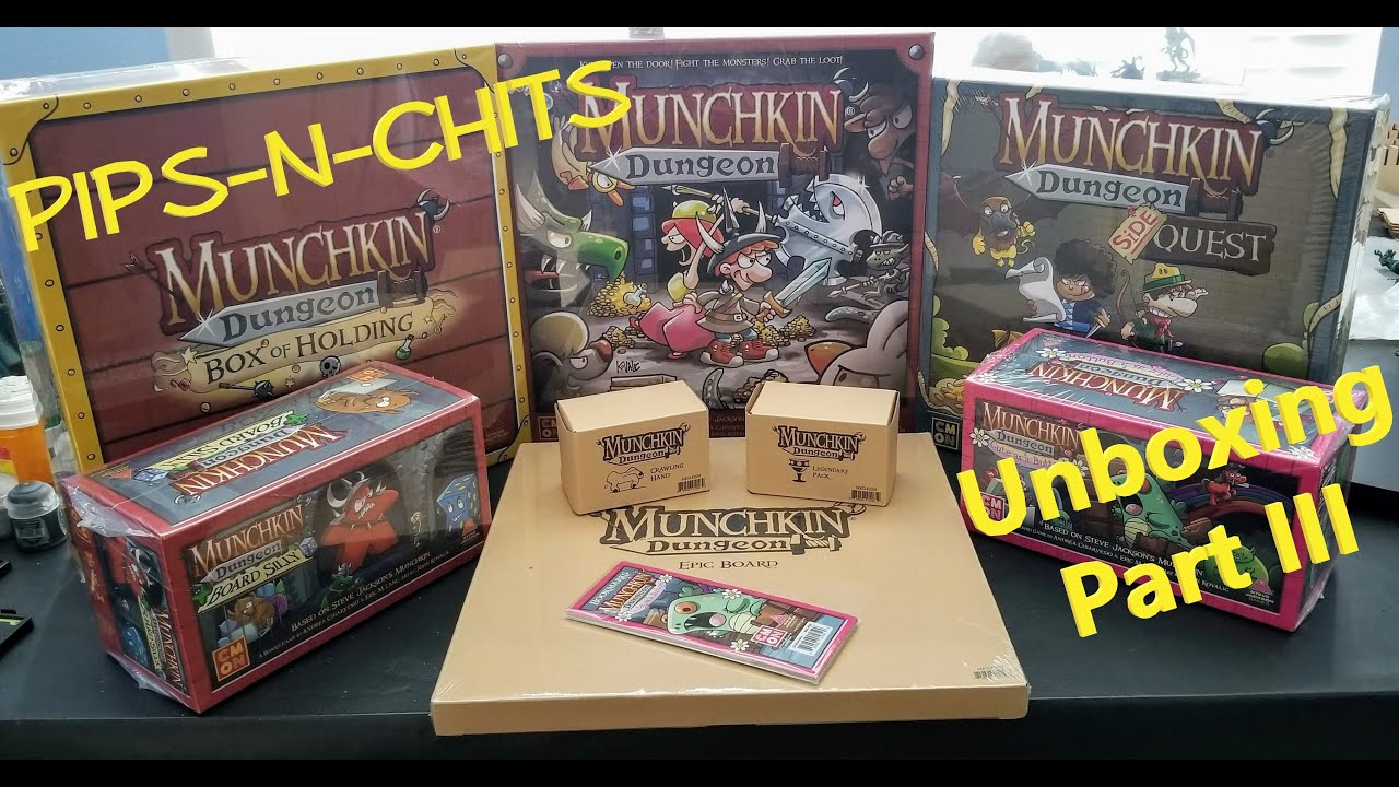 Munchkin Dungeon Cute as a Button Expansion New