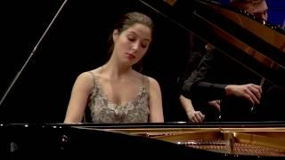 Alina Bercu performs Beethoven's Piano Concerto No. 5 in E flat major op. 73
