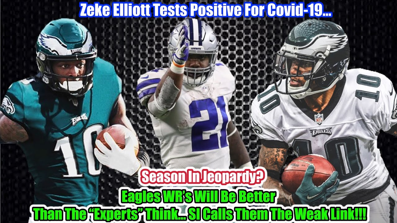 Ezekiel Elliott tested positive for coronavirus and thinks someone ...