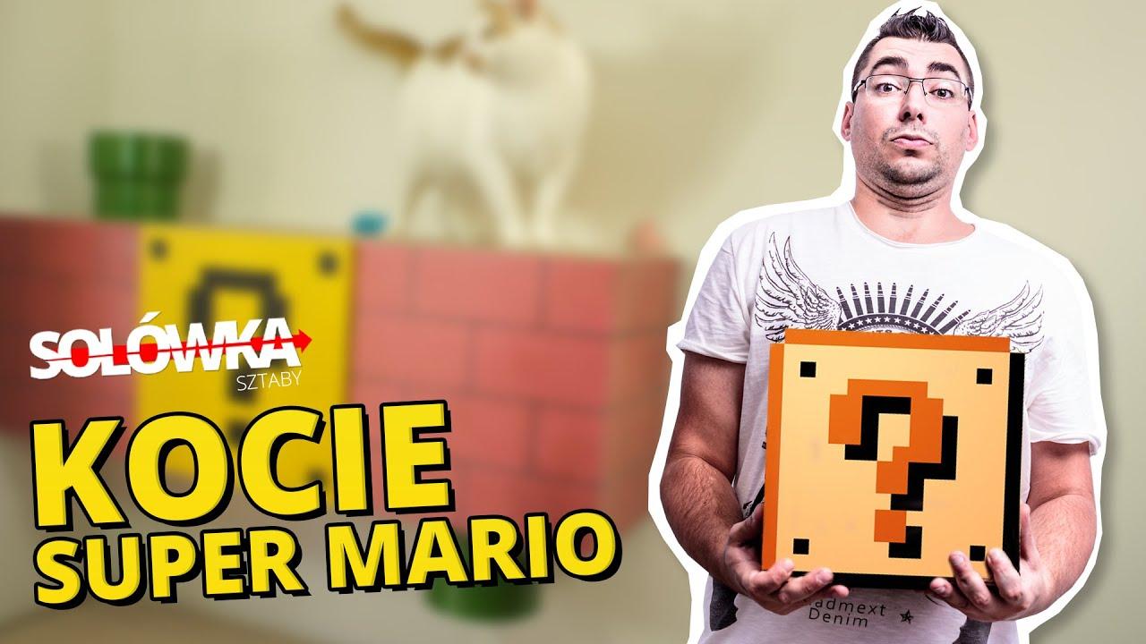 Solówka Sztaby - Kocie Super Mario