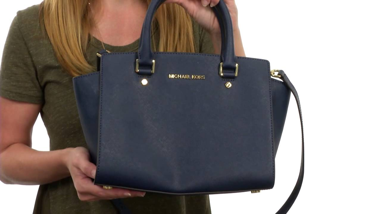 579408cd0fca MICHAEL Michael Kors Selma Medium Top-Zip Satchel SKU:8556540 - YouTube
