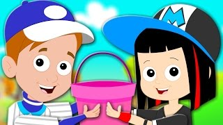 Jack And Jill Went Up The Hill | Nursery Rhymes For Kids | Children Super Star Rangers | Kids Tv