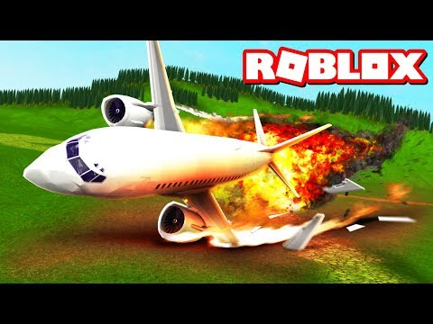ROBLOX ISLAND PLANE CRASH SURVIVAL