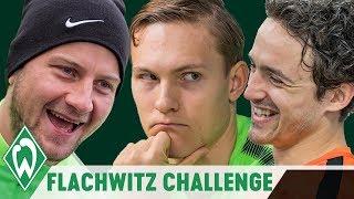 FLACHWITZ CHALLENGE mit Thomas Delaney, Zlatko Junuzovic, Robert Bauer | SV Werder Bremen