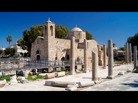 Pafos - Bazylika Panagia Chrysopolitissa - Kościół Ayia Kyriaki - Kolumna św.Pawła - Cypr