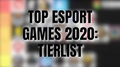 Die besten E-Sport Spiele 2020