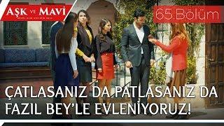 Aşk ve Mavi 65.Bölüm - Ava giderken avlanan İlyas!