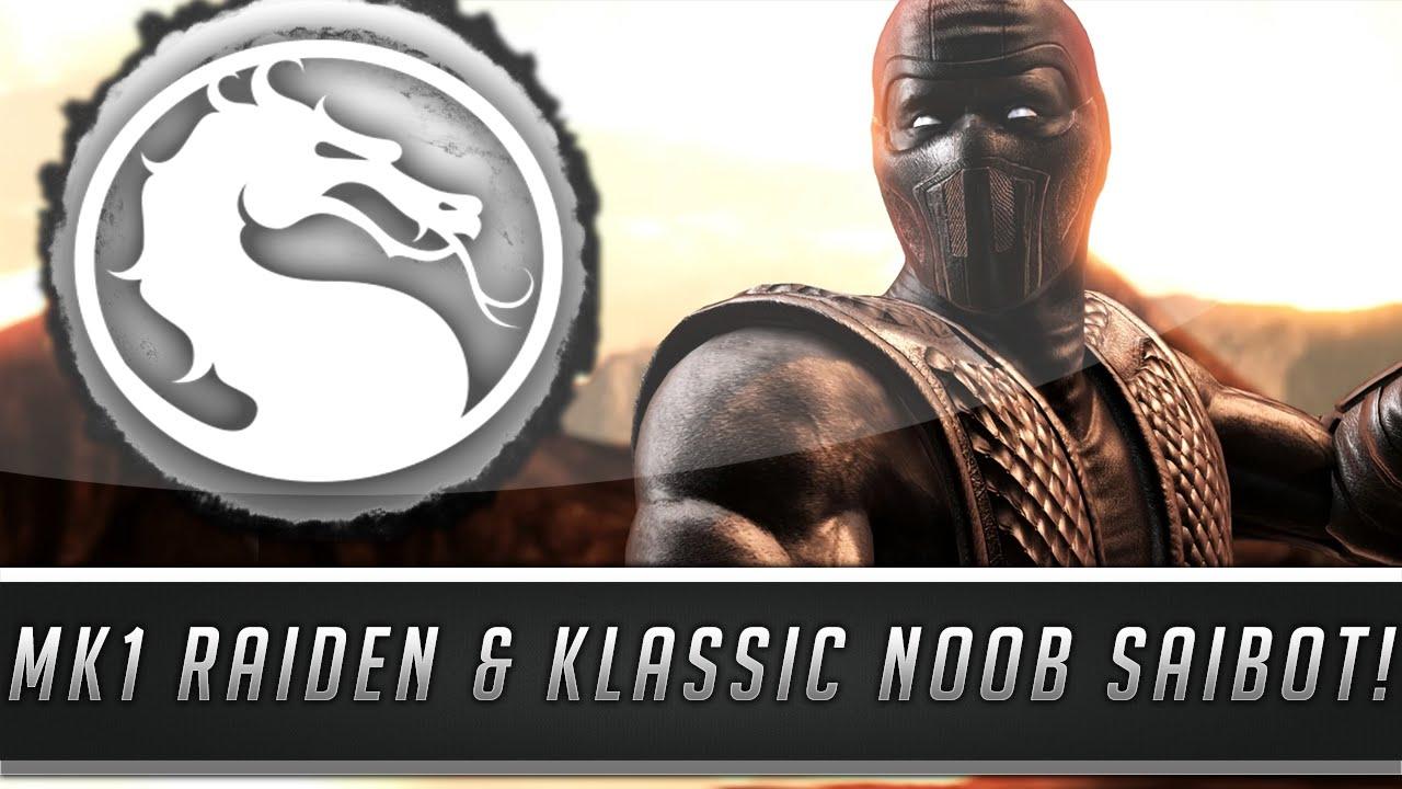 Mortal Kombat X: New Klassic Noob Saibot & MK1 Raiden Skins
