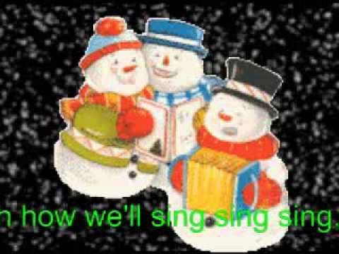 Mandy Miller. A Christmas Song. Snowflakes. 1956. With Words. For kids everywhere