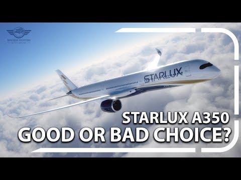 Startup Airline Milestone: Starlux Airline Orders A350XWB!