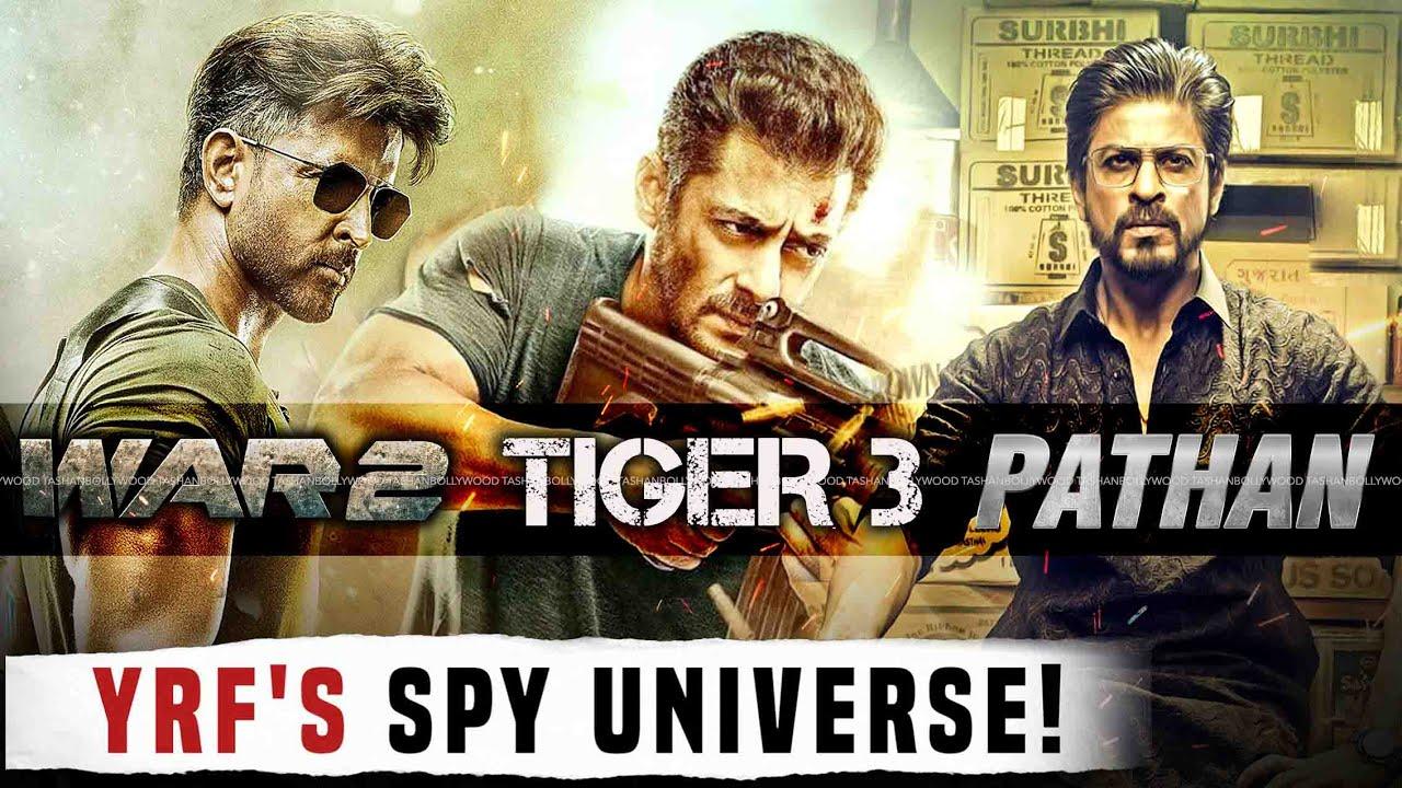 YRF To Create 'SPY UNIVERSE' With Shahrukh Khan, Salman Khan And Hrithik Roshan | Pathan Tiger War 2 - YouTube
