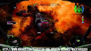 Darkstar One Broken Alliance Walkthrough - Boss Battle: Thul Cruiser