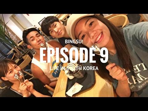 Foreign Exchange Student in South Korea - EP.9   BINGSU!