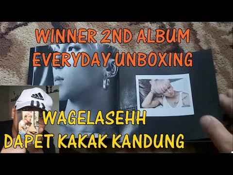 WINNER 2ND ALBUM EVERYDAY UNBOXING [Bahasa Indonesia]