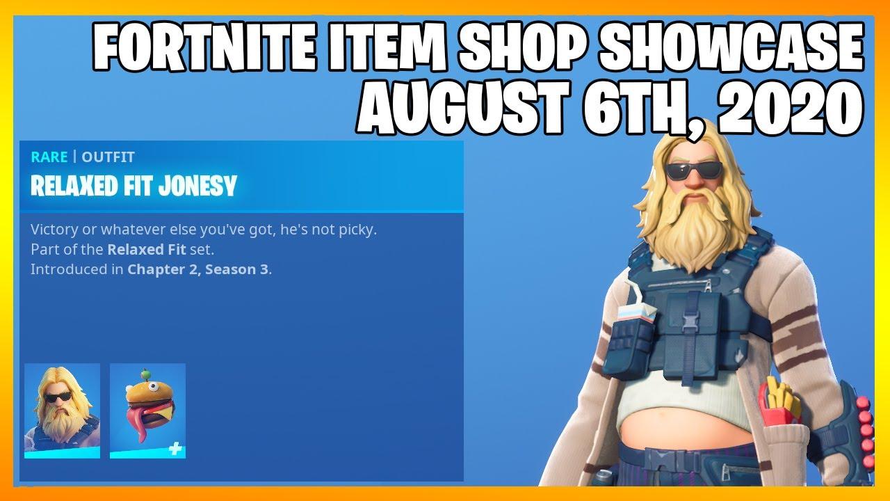 Fortnite Item Shop 3 *NEW* SKINS! [August 6th, 2020] (Fortnite Battle Royale)