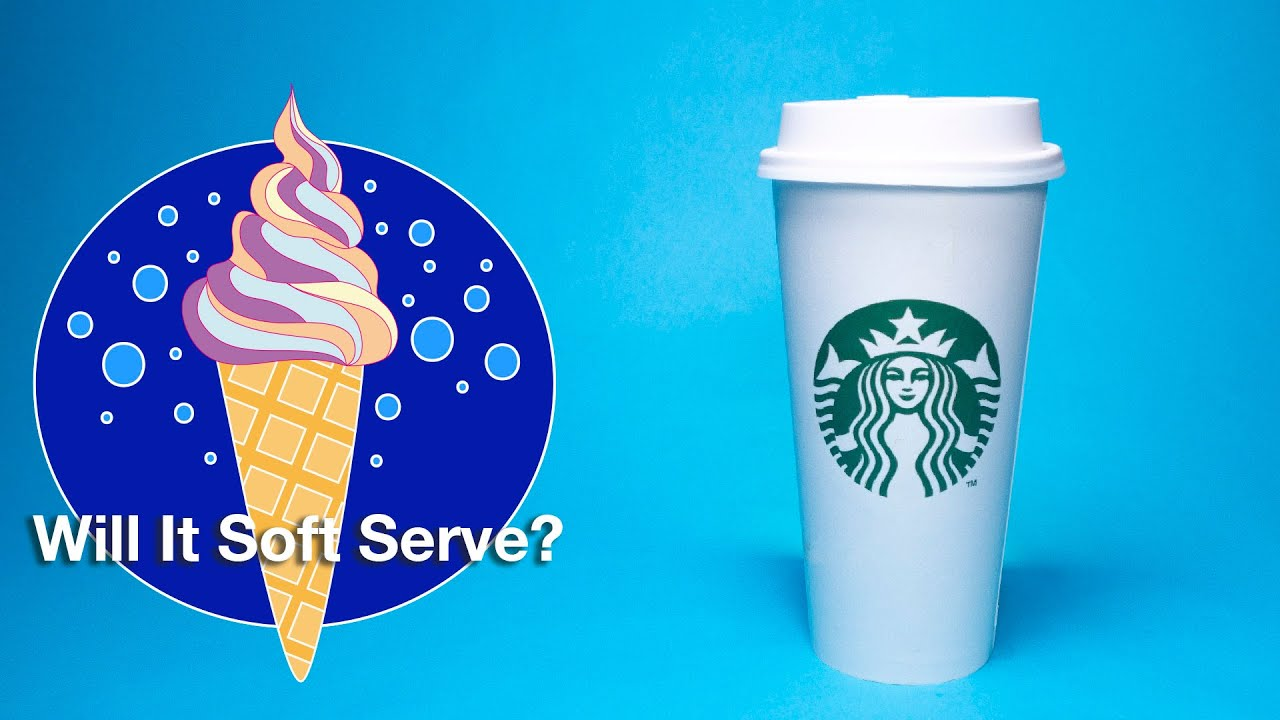 Youtube Thumbnail Image: ☕️ Pumpkin Spice Latte - Will It Soft Serve?