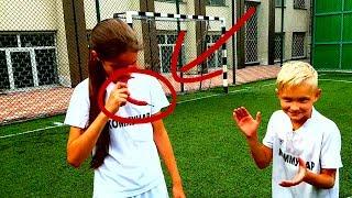 ⚽ ФУТБОЛЬНЫЙ ЧЕЛЛЕНЖ С НАКАЗАНИЕМ СЪЕШЬ ПЕРЕЦ ⚽ FOOTBALL CHALLENGE WITH PUNISHING TO EAT PEPPER