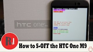How to get S OFF on the HTC One M9 with Sun Shine App