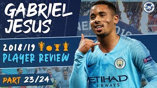 GABRIEL JESUS | MAN CITY 2018/19 SEASON REVIEW