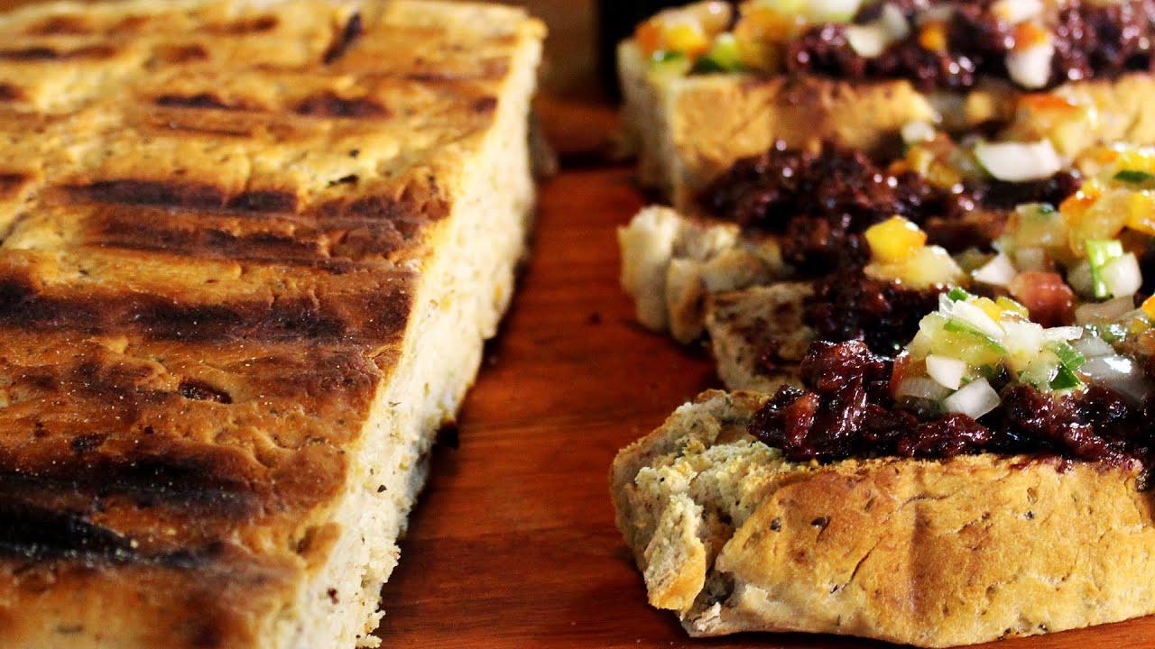 Como hacer pan a la parrilla receta especial de locos x - Parrilla de la vanguardia ...
