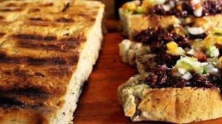 como hacer pan a la parrilla receta especial de locos x el asado