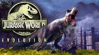 Прохождение игры Jurassic World Evolution #3 - НОВЫЕ ХИЩНЫЕ ДИНОЗАВРЫ