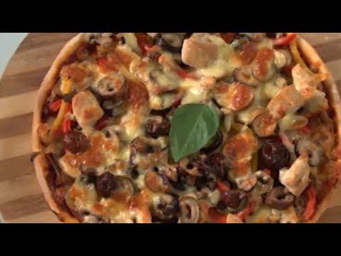 حلقه خاصه عن جميع انواع #البيتزا سالي فؤاد | سفرة سالي PNC FOOD