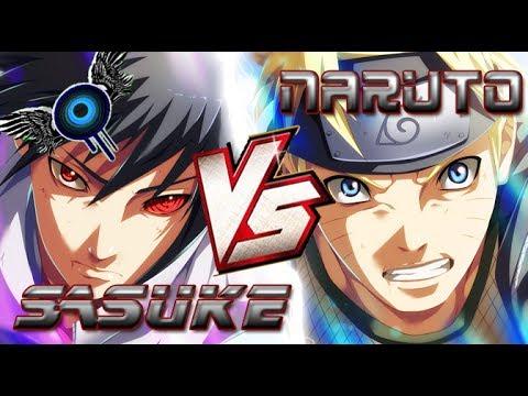 Naruto vs Sasuke   Batallas de Rap   Ivangel Music ft Kinox