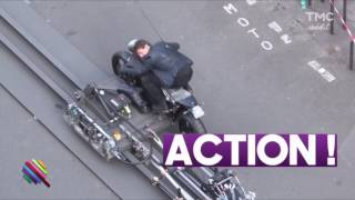 Mission impossible Fallout in Paris Behind the Scenes