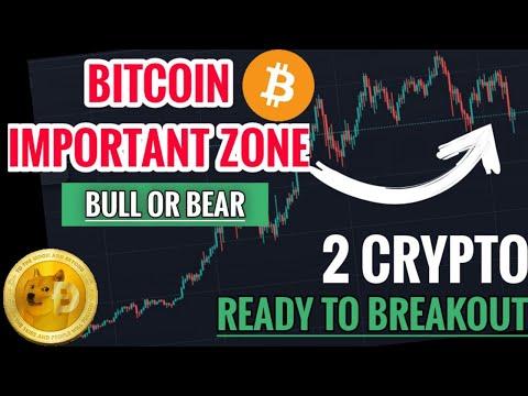 🚨 ALERT: Bitcoin In Important Zone | Bull Or Bear Market | 2 Crypto Ready To Breakout