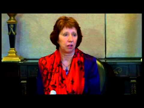 Baroness Ashton: 'Egypt must create deep democracy'